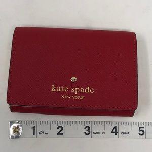Kate Spade 'mikas pond' card case